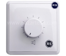RS AUDIO VC-306R 6W-Volume Control Unit with 24V Relay
